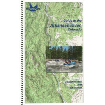 Rivermaps RiverMaps Arkansas River Colorado Guide Book