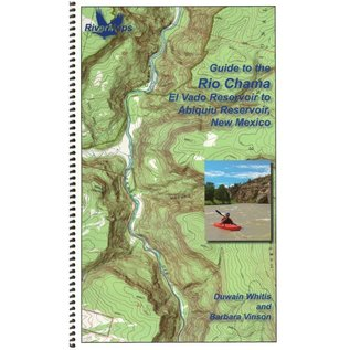 Rivermaps RiverMaps Rio Chama New Mexico Guide Book