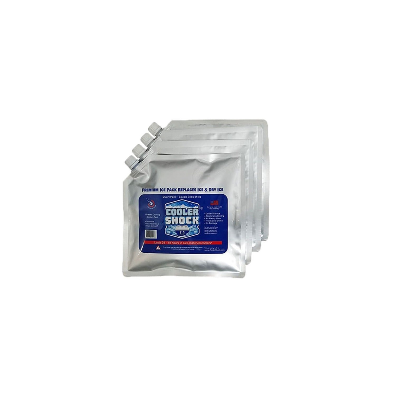 Canyon Coolers Canyon Coolers Shock Dry Pack Mid Size  4 Pack