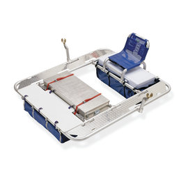 Down River Equipment Down River Colorado 4-Bay Diamond Plate Raft Frame XD