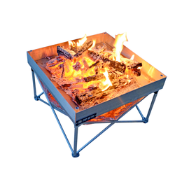 Fireside Outdoors Fireside Outdoor Pop-Up Pit Shield Combo