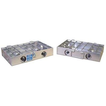 "Partner Steel 4 Burner 18"" w/ Break-apart Hinge"