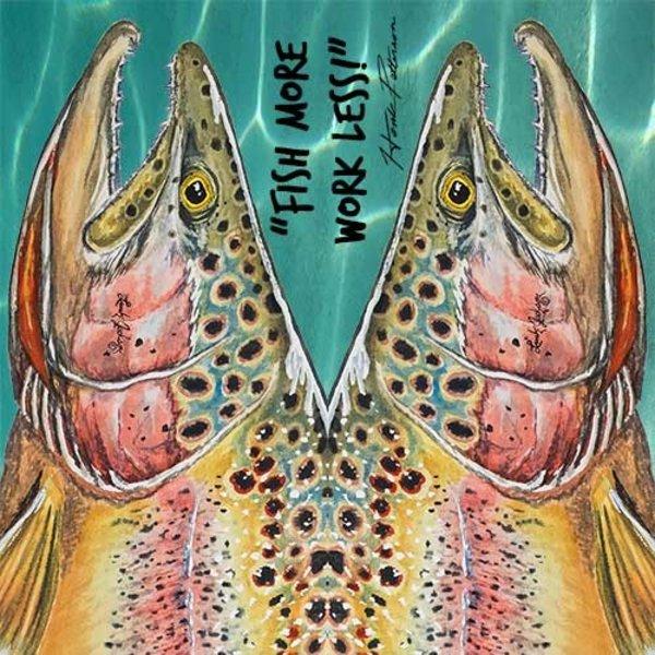 Sawyer Paddle & Oars Sawyer MXS Artisan Print Shaft w/Wrap & Stop