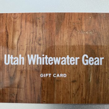 UWG Utah Whitewater Gear Gift Card