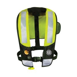 Mustang Survival Mustang Survival HIT™ High Visibility Inflatable PFD (Auto Hyrostatic)
