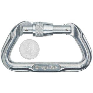 Omega Omega Standard Locking D Carabiner