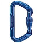 Omega Omega Standard Locking D Carabiner Blue