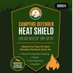 Fireside Outdoors Fireside Outdoors Pop-Up Pit Heat Sheild