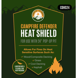 Fireside Outdoors Fireside Outdoors Pop-Up Pit Heat Sheild