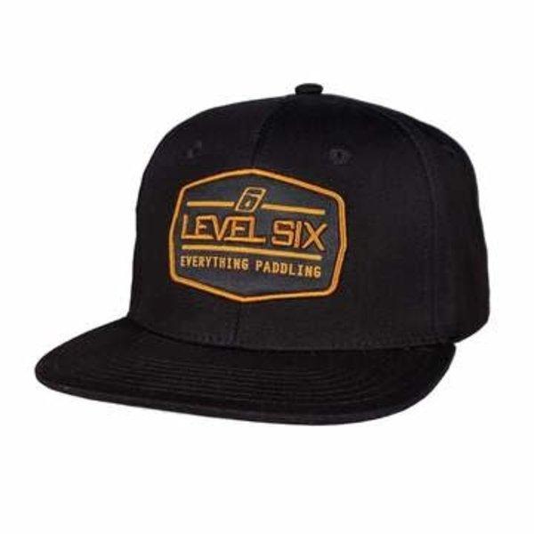 Level Six Level Six Badge Cotton Hat