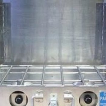 "Partner Steel Co Partner Steel 2 Burner 16"" Stove with Windscreen"