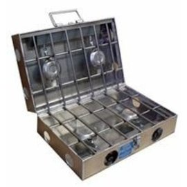 "Partner Steel Co Partner Steel 4 Burner 16"" Cook Partner Stove (Rocket Box Size)"