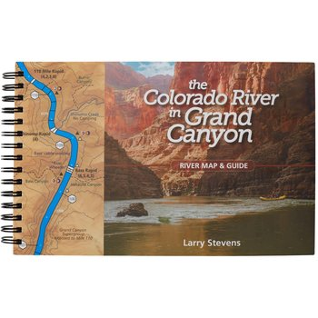 Larry Stevens The Colorado River in Grand Canyon River Map & Guide
