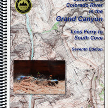 Rivermaps RiverMaps Colorado River in the Grand Canyon 7th Ed. Guide Book