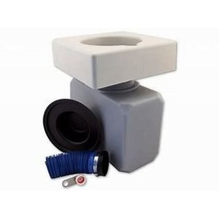 Eco-Safe Toilet System W/ Square Seat