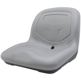 NRS High-Back Padded Drain Hole Seat