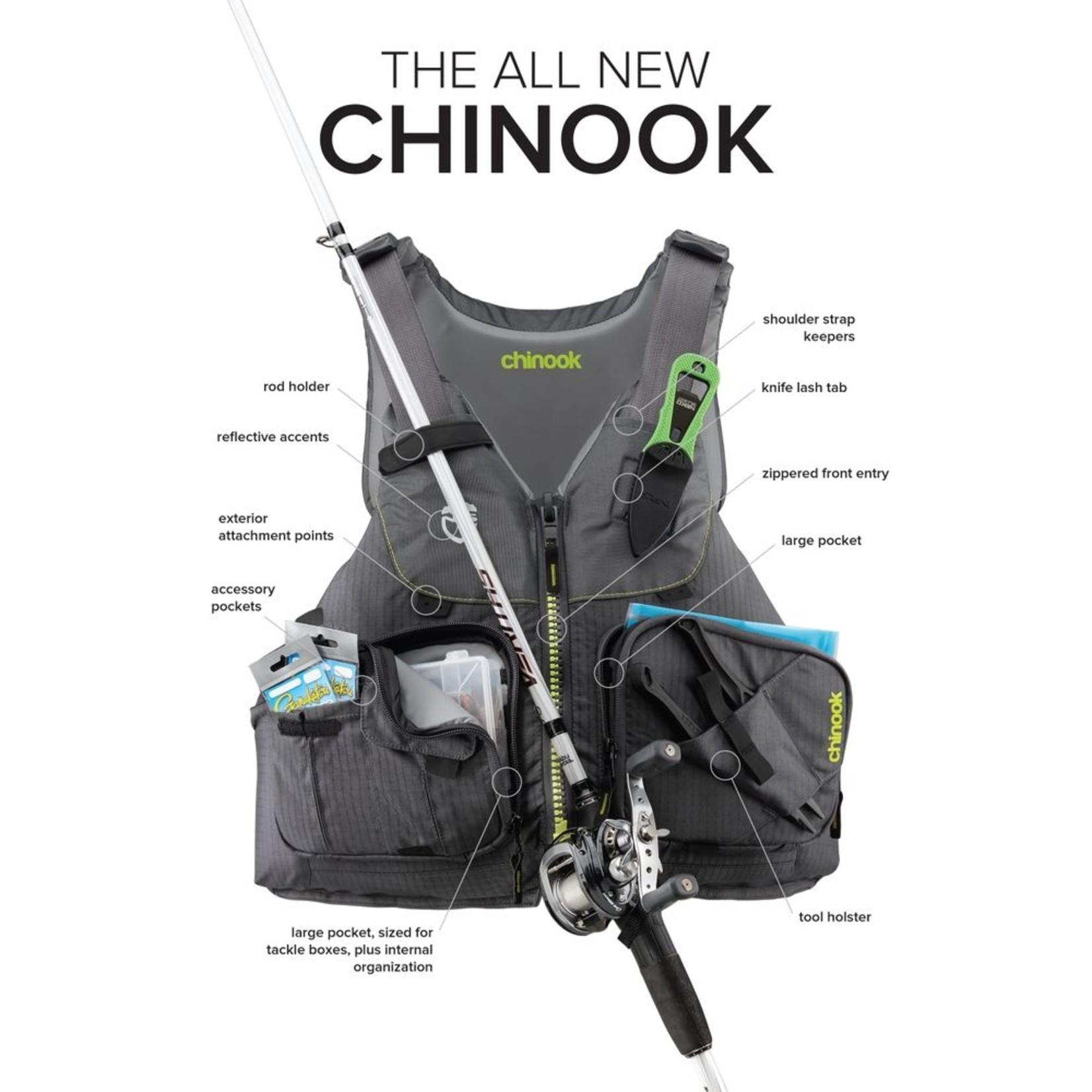 NRS NRS Chinook Fishing PFD