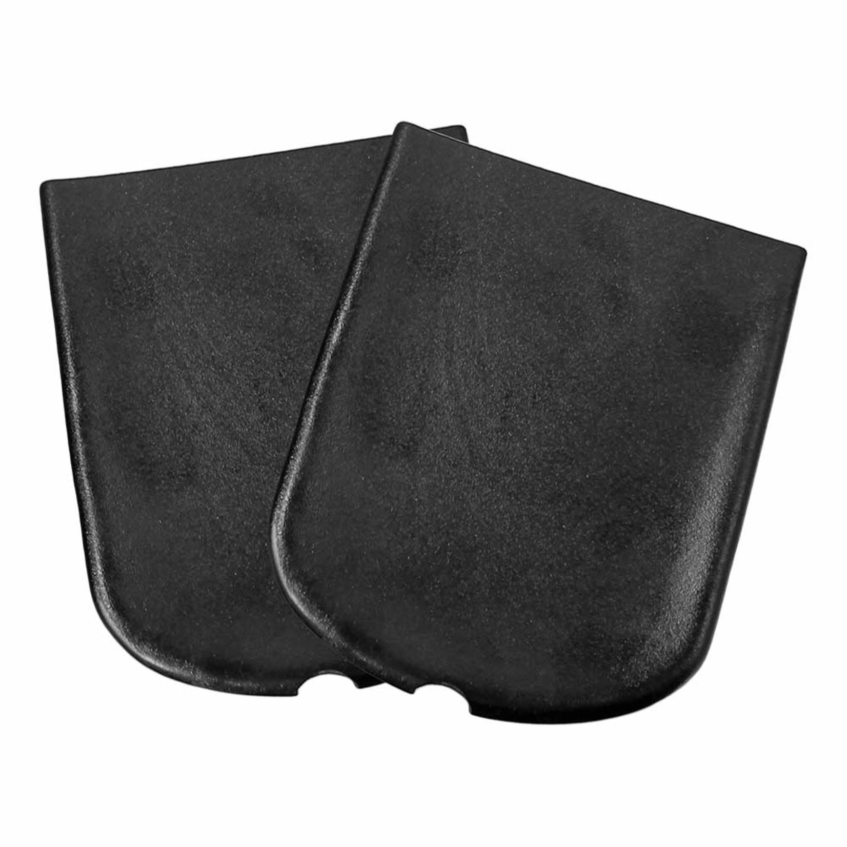 "Sawyer Paddle & Oars Sawyer Vinyl Oar Tip Protector, 5-1/2"" Black Cap Narrow (Pair)"