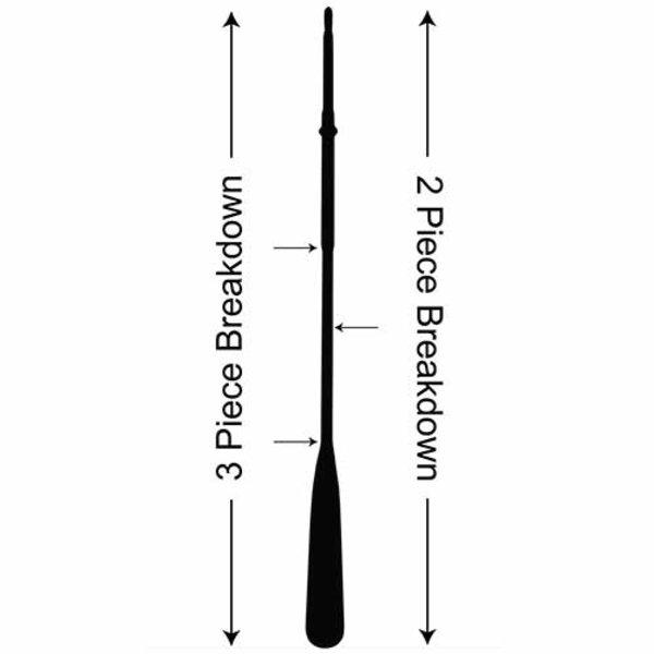 Sawyer Paddle & Oars Sawyer MXS-G Counter Balance Shaft w/Wrap & Stop