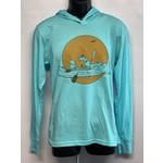 UWG UWG MC River Rat Triblend Hooded Shirt