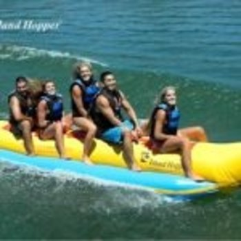 "Island Hopper Island Hopper ""Heavy Recreational"" 5 Passenger Banana Boat"