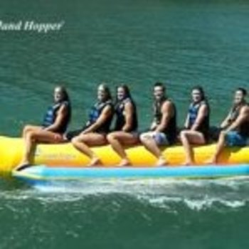 "Island Hopper Island Hopper ""Heavy Recreational"" 6 Passenger Banana Boat"