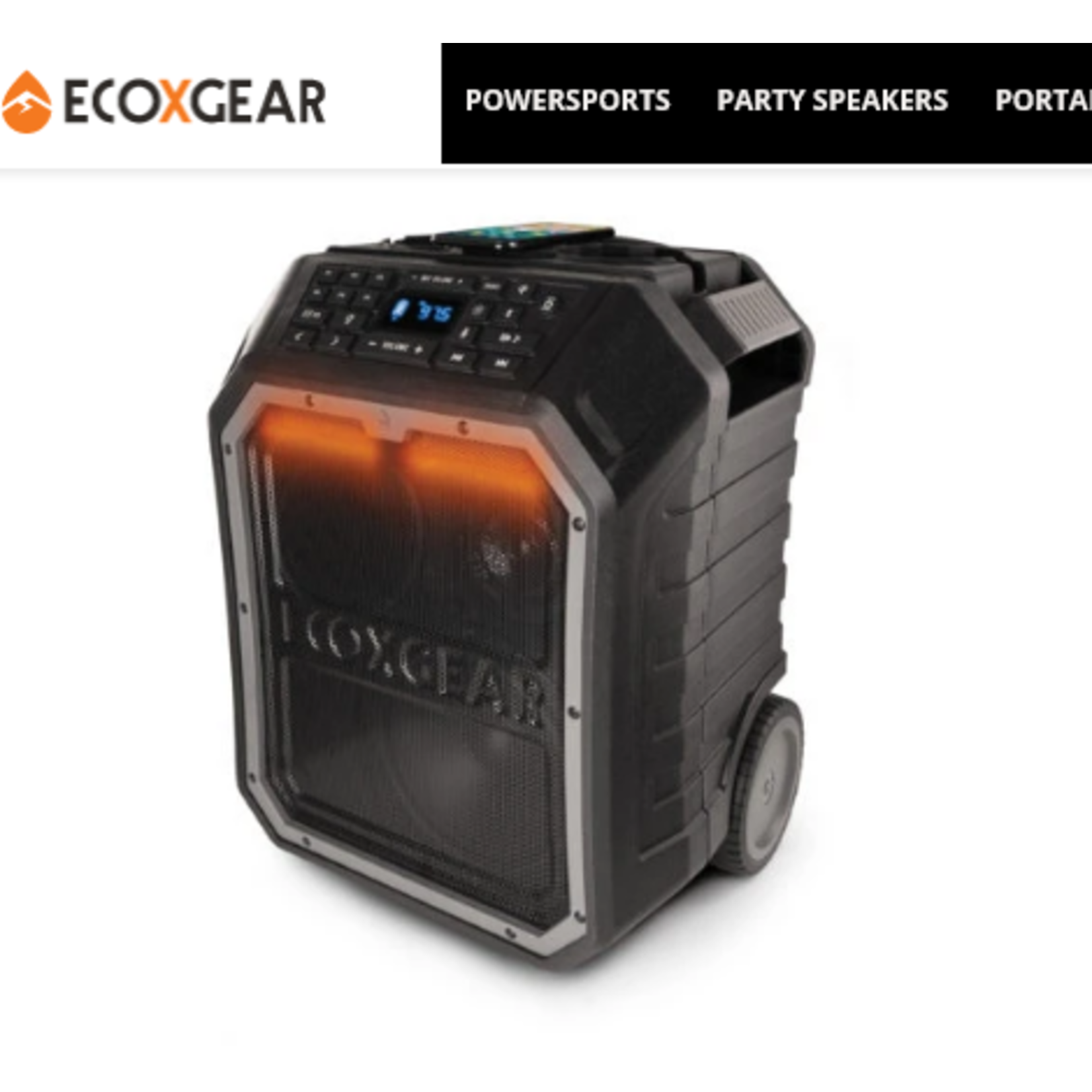 EcoXGear EcoXGear EcoBoulder Plus