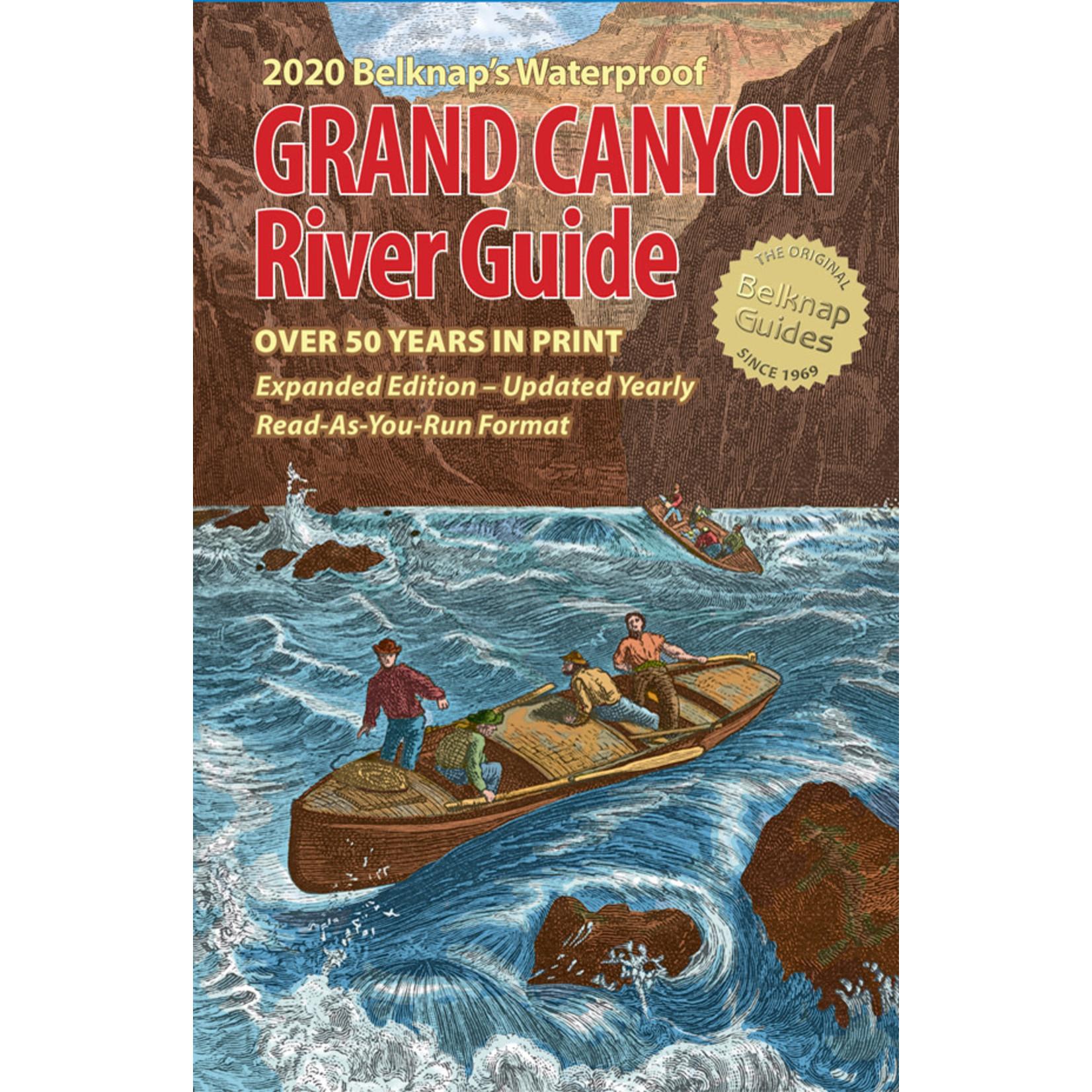 Belknap's Waterproof Grand Canyon River Guide