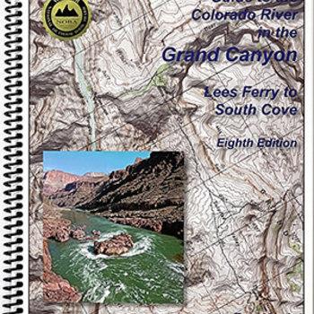 Rivermaps RiverMaps Colorado River in the Grand Canyon 8th Ed. Guide Book