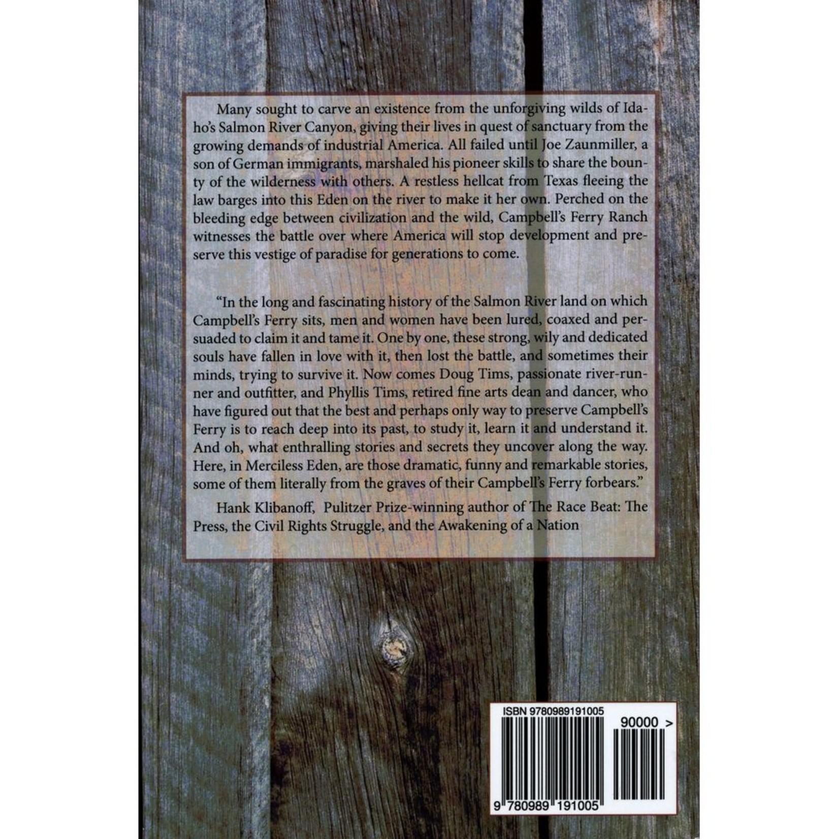Doug Tims Merciless Eden Book