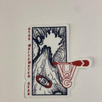 UWG UWG Waterfall Sticker