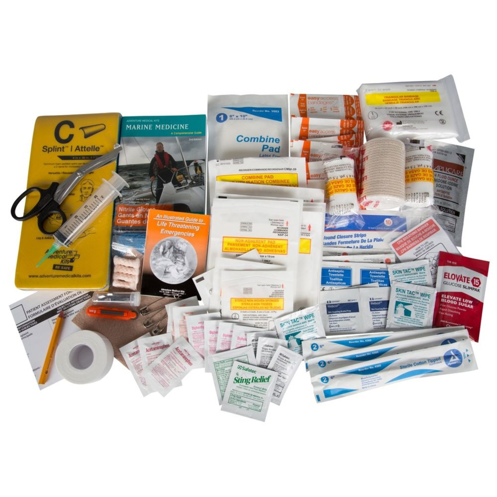 NRS NRS Pro Paddler Medical Kit  Kit with Gray Buckle Bag