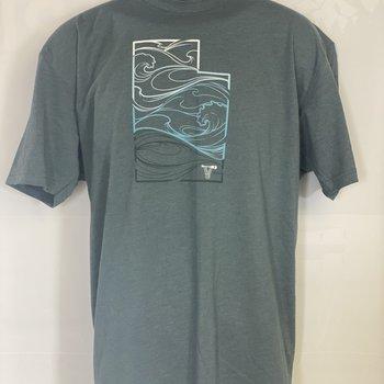 UWG UWG MC Utah Whitewater Wave T-shirt
