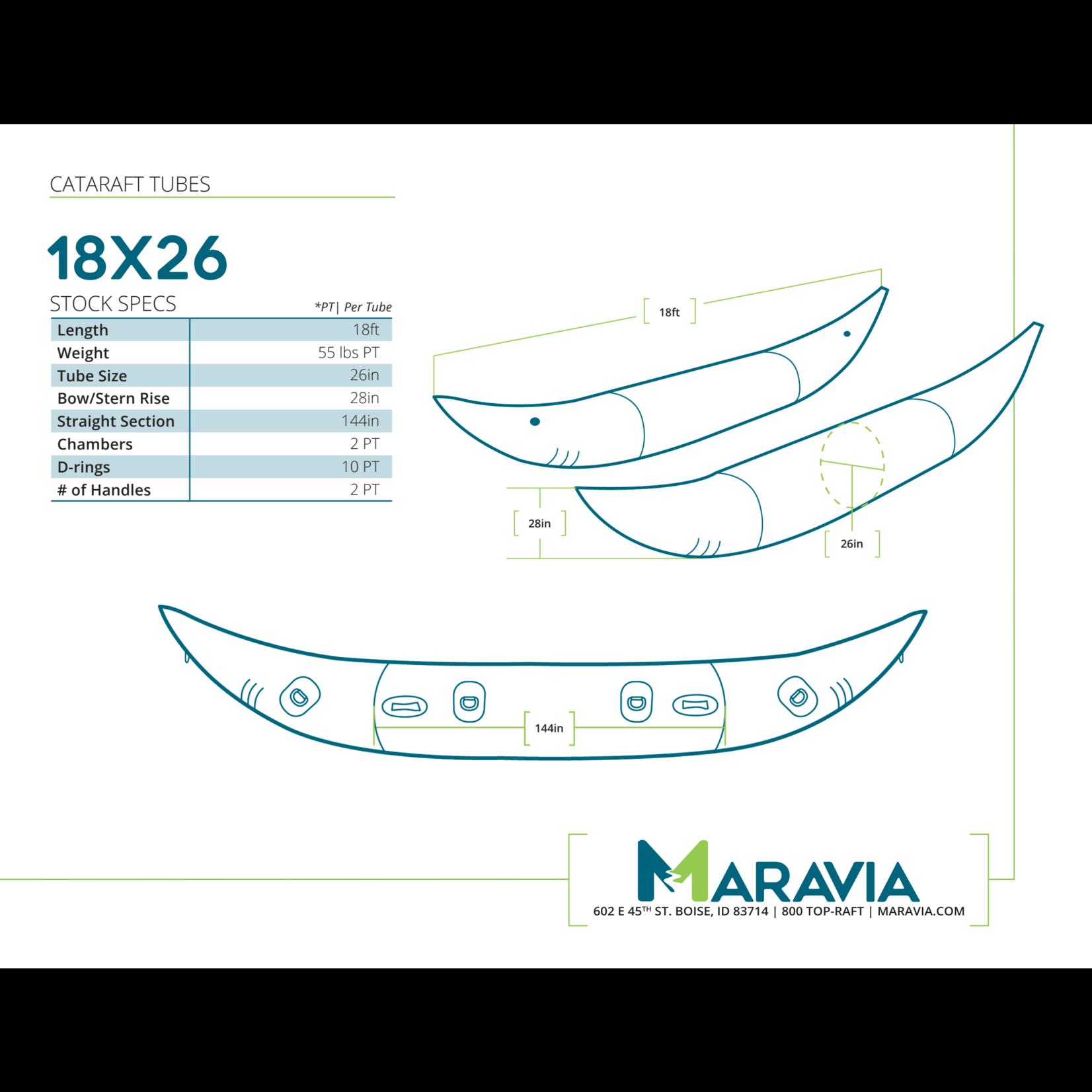 Maravia Maravia Cataraft 18x26