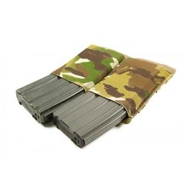 BLUE FORCE GEAR BLUE FORCE GEAR TEN-SPEED DOUBLE M4 MAG POUCH