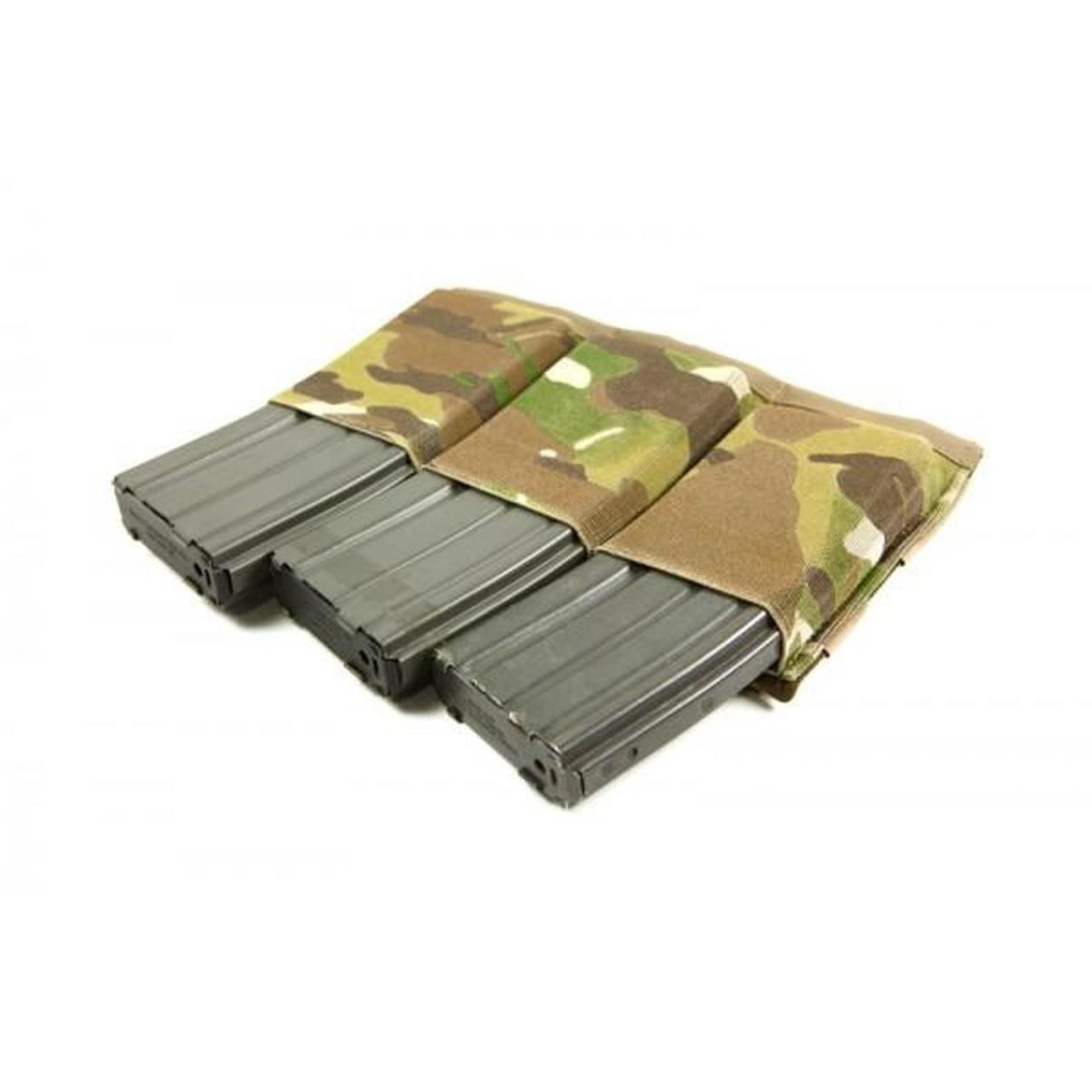 BLUE FORCE GEAR TEN-SPEED TRIPLE M4 MAG POUCH