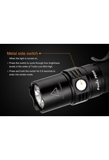 FENIX LIGHT FENIX PD25 FLASHLIGHT W/ 700U BATTERY
