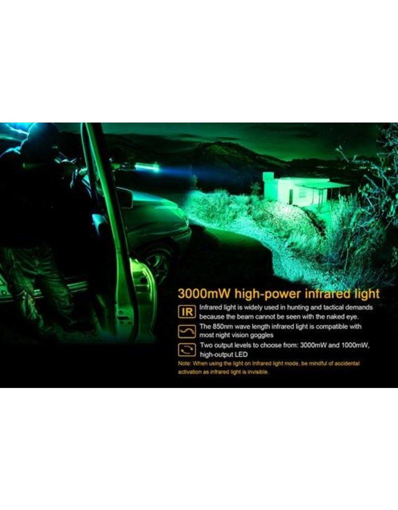 FENIX LIGHT FENIX TK25 IR FLASHLIGHT WITH INFRARED ILLUMINATOR