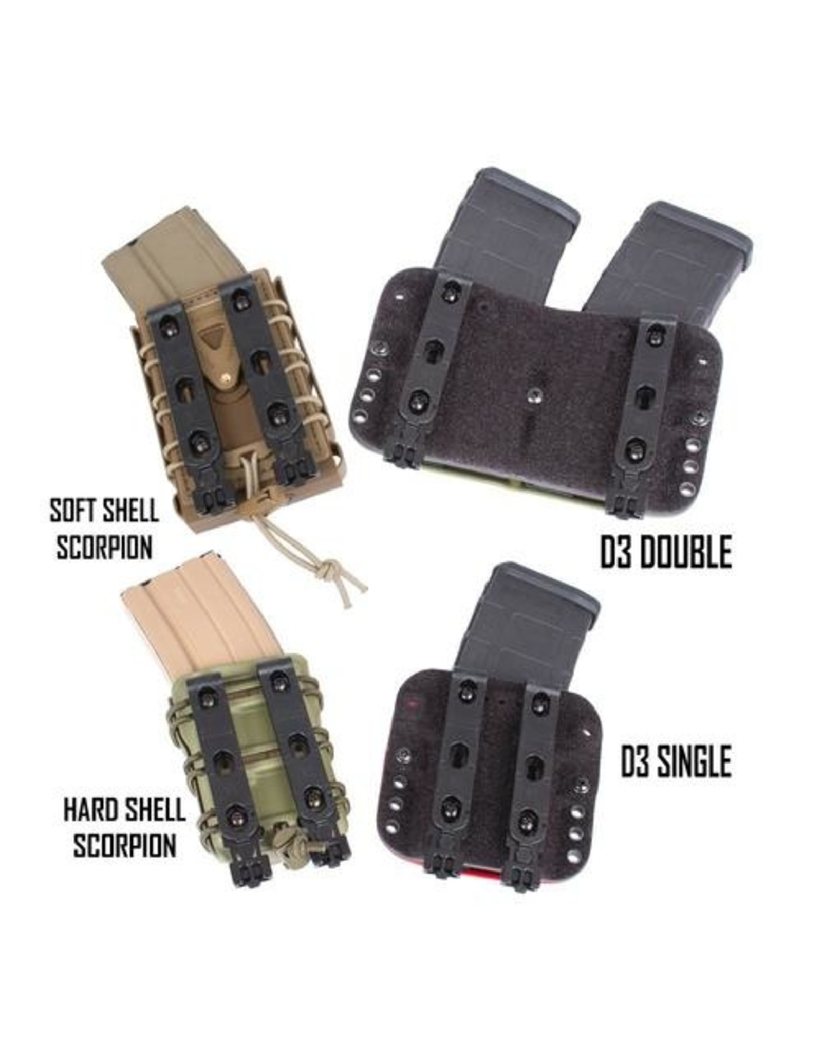G-CODE G-CODE R1 MOLLE CLIPS (PAIR)