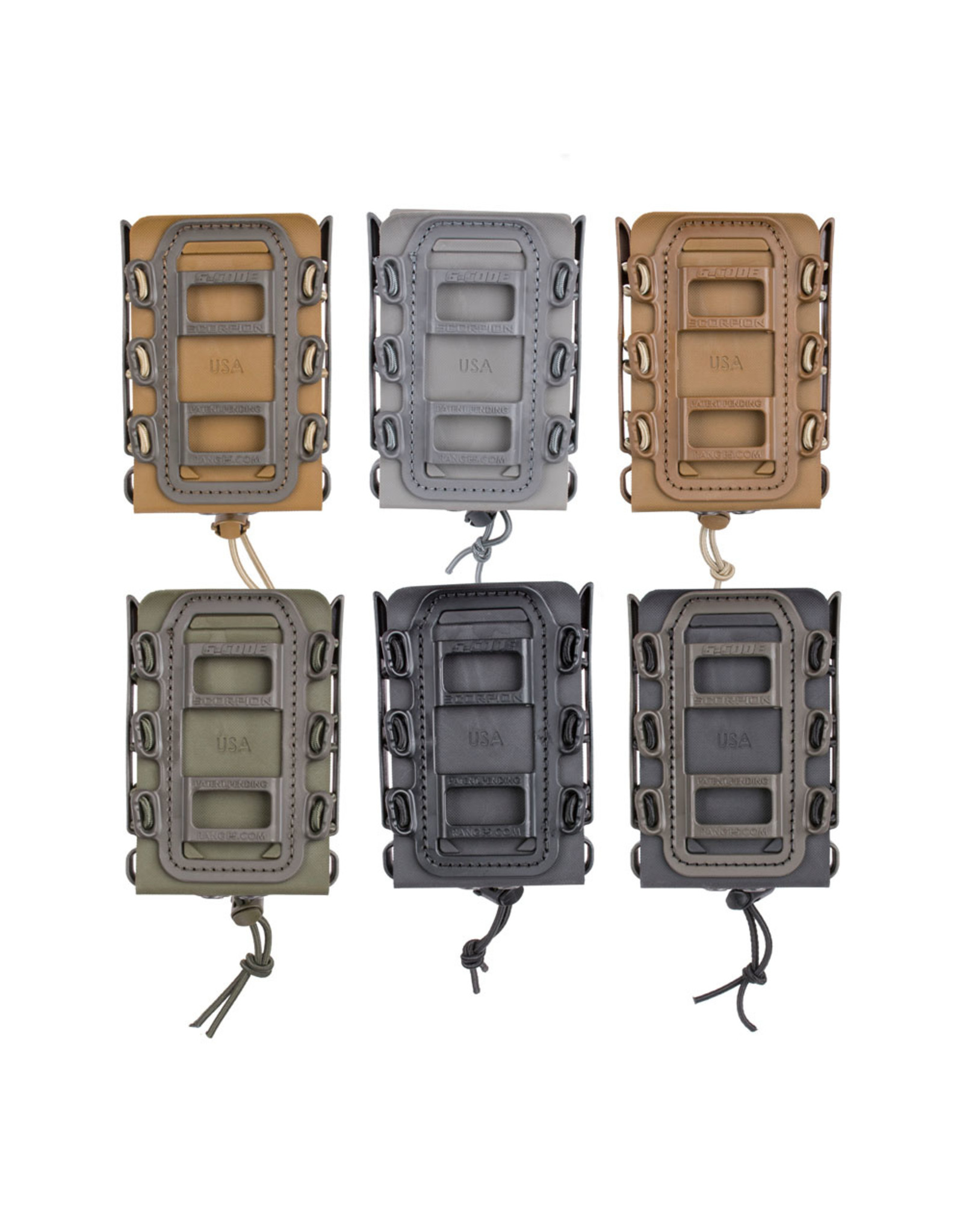 G-CODE G-CODE SOFT SHELL SCORPION RIFLE MAG CARRIER