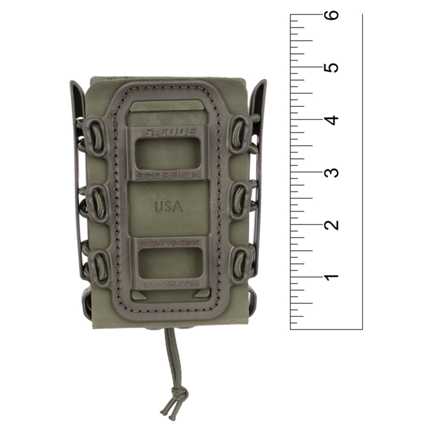 G-CODE SOFT SHELL SCORPION RIFLE MAG CARRIER