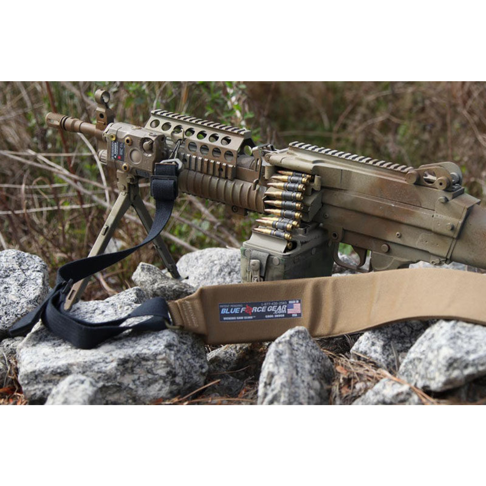 BLUE FORCE GEAR M249 SAW PADDED SLING
