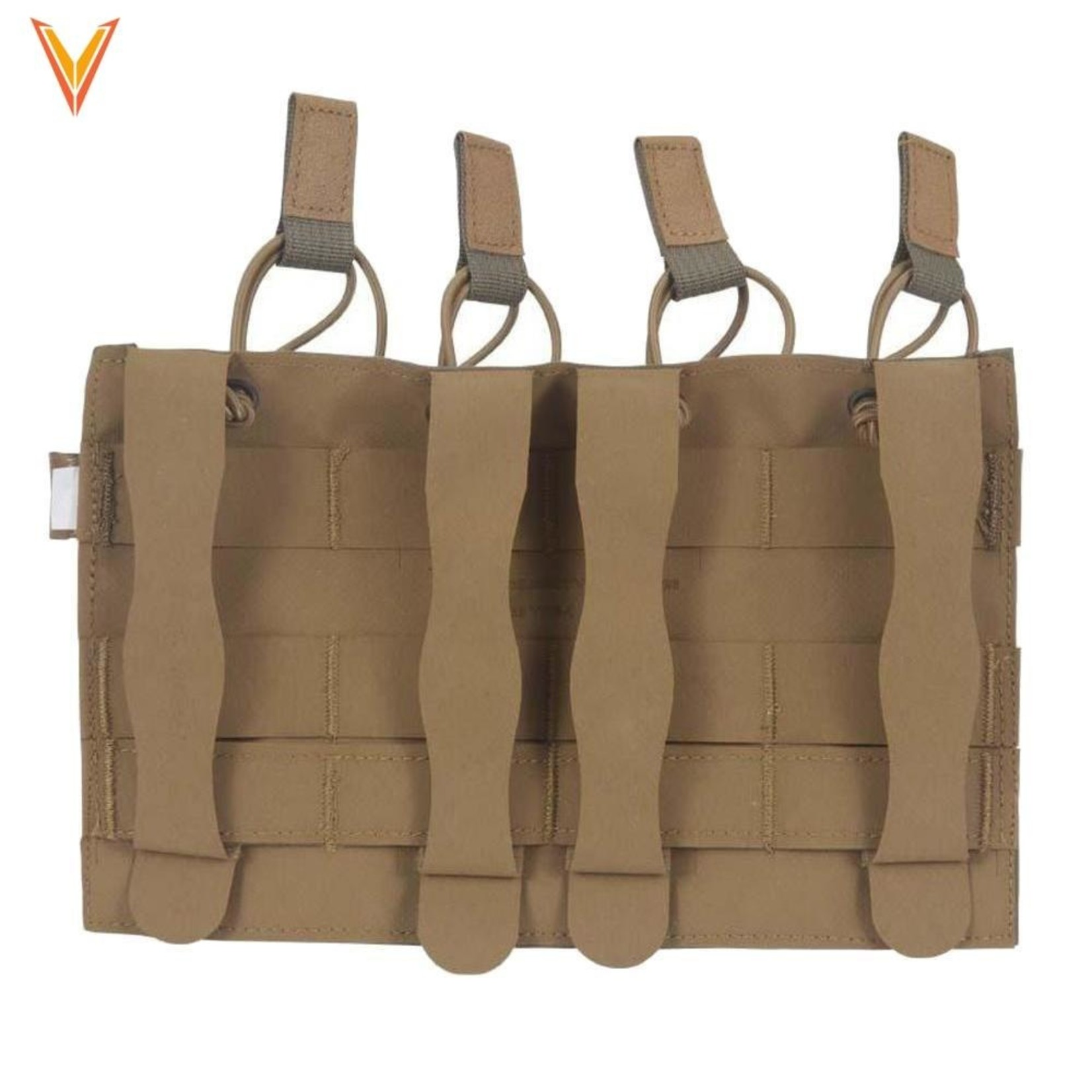VELOCITY SYSTEMS HELIUM WHISPER QUAD MP7 MAGAZINE POUCH, OPEN TOP
