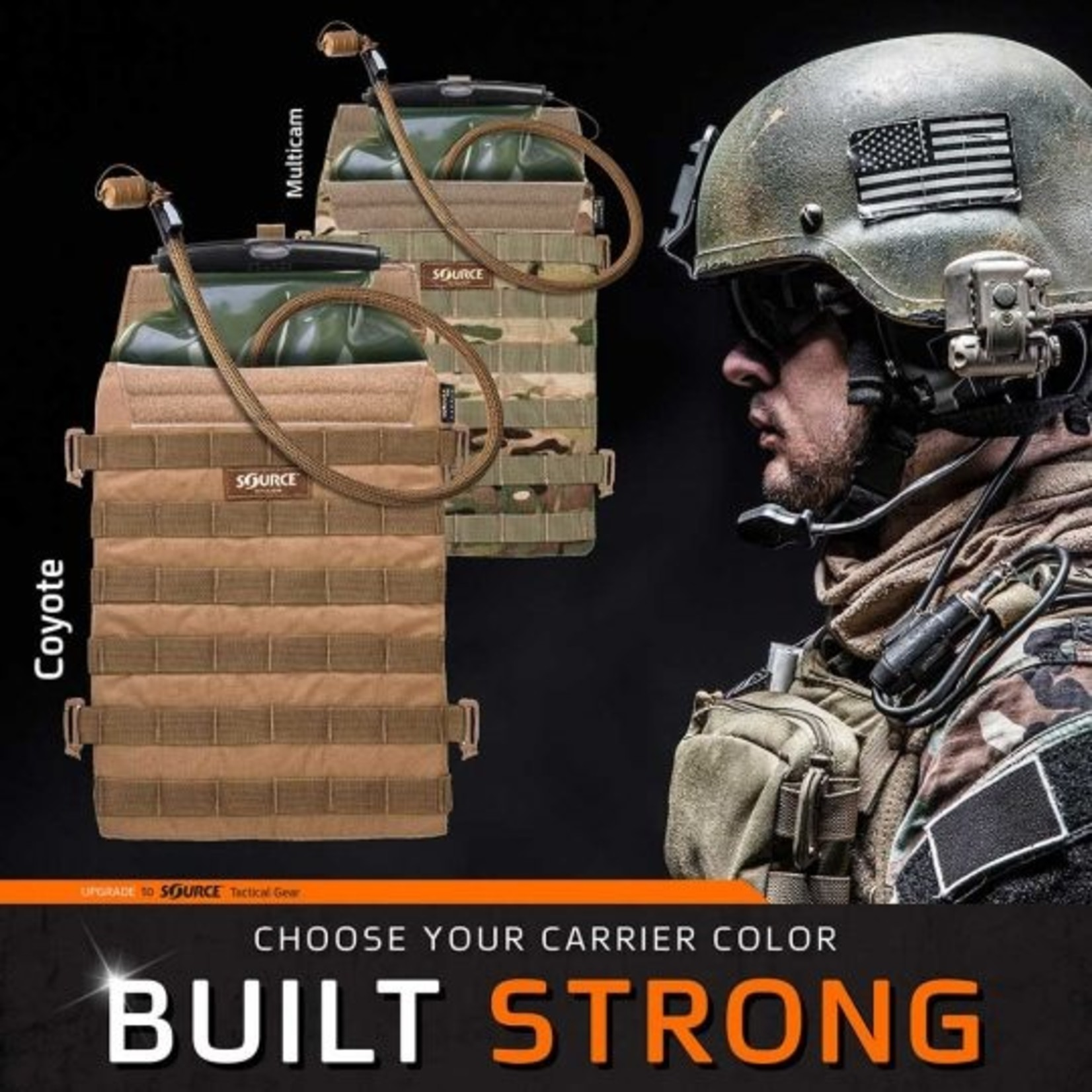 SOURCE TACTICAL GEAR RAZOR HYDRATION PACK