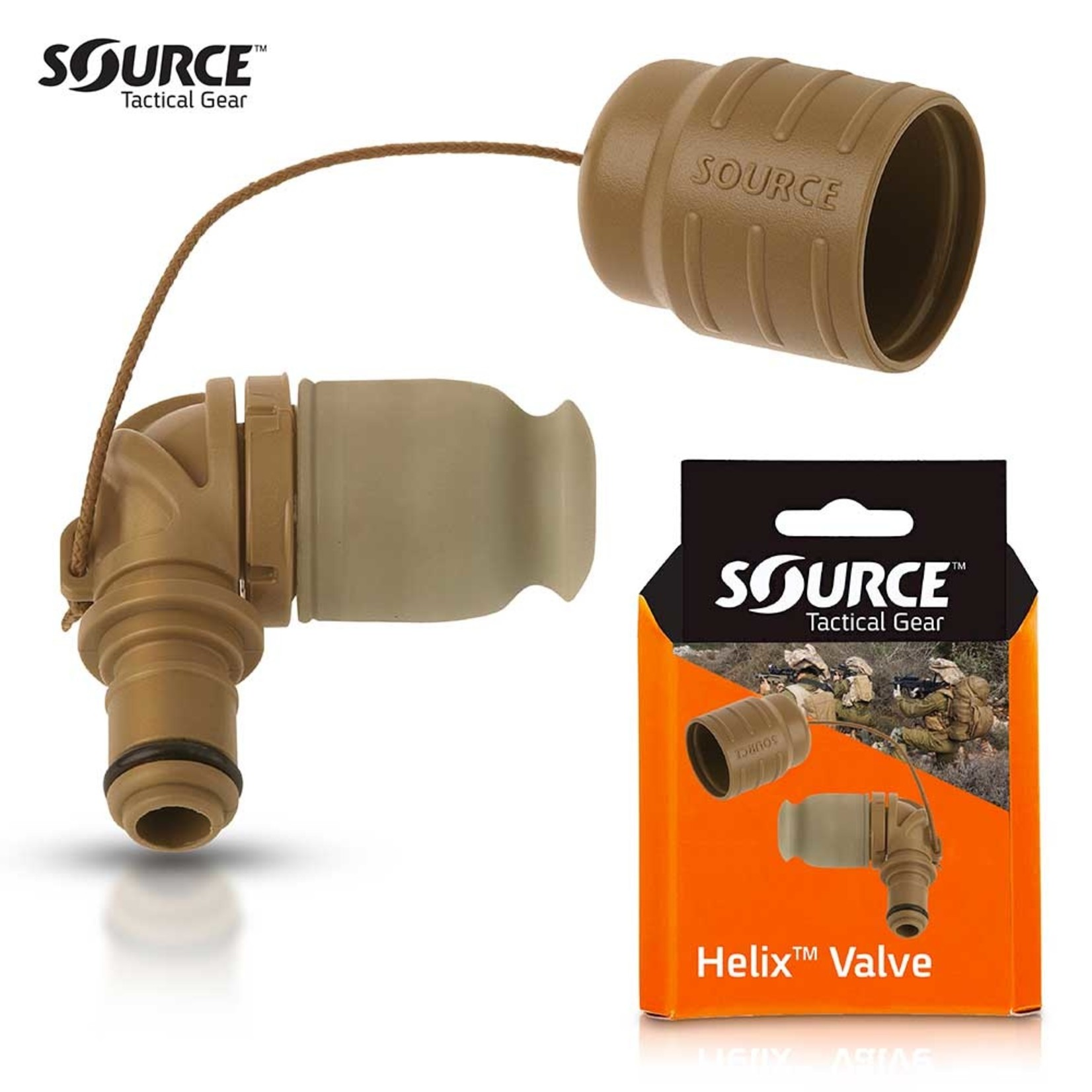 SOURCE TACTICAL GEAR HELIX | HIGH PERFORMANCE BITE VALVE
