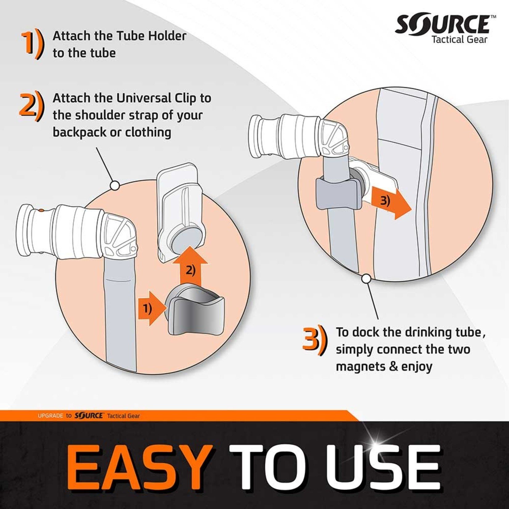 SOURCE TACTICAL GEAR ULTIMATE SOURE M.C. 3L HYDRATION SYSTEM