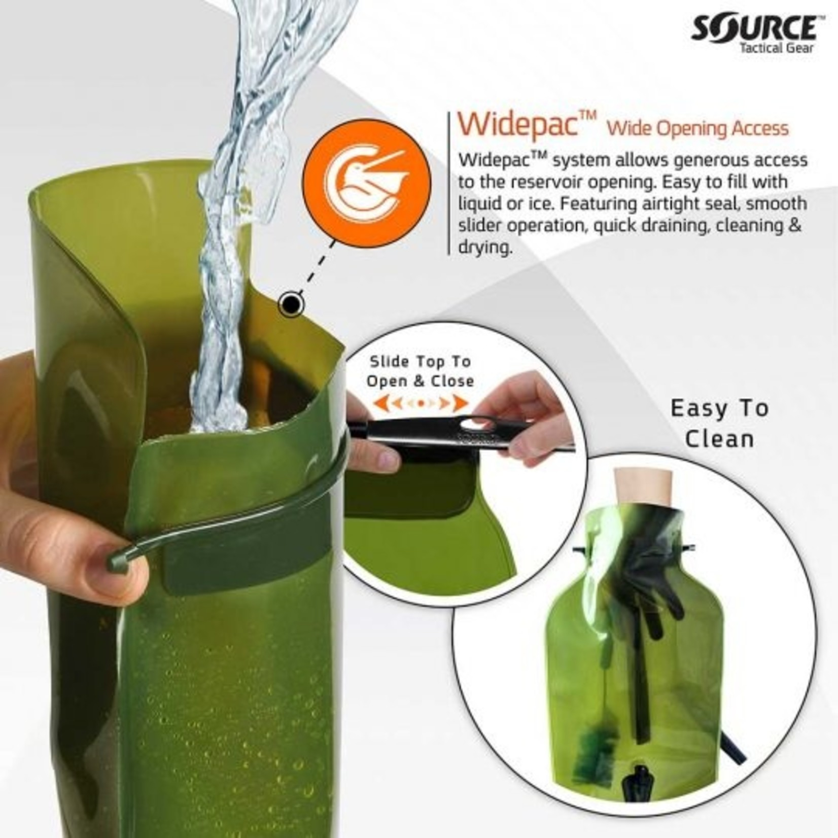 SOURCE TACTICAL GEAR WLPS 3L LOW PROFILE HYDRATION SYSTEM