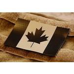 PATCH DRAPEAU CANADIEN INFRAROUGE - TAN & NOIR