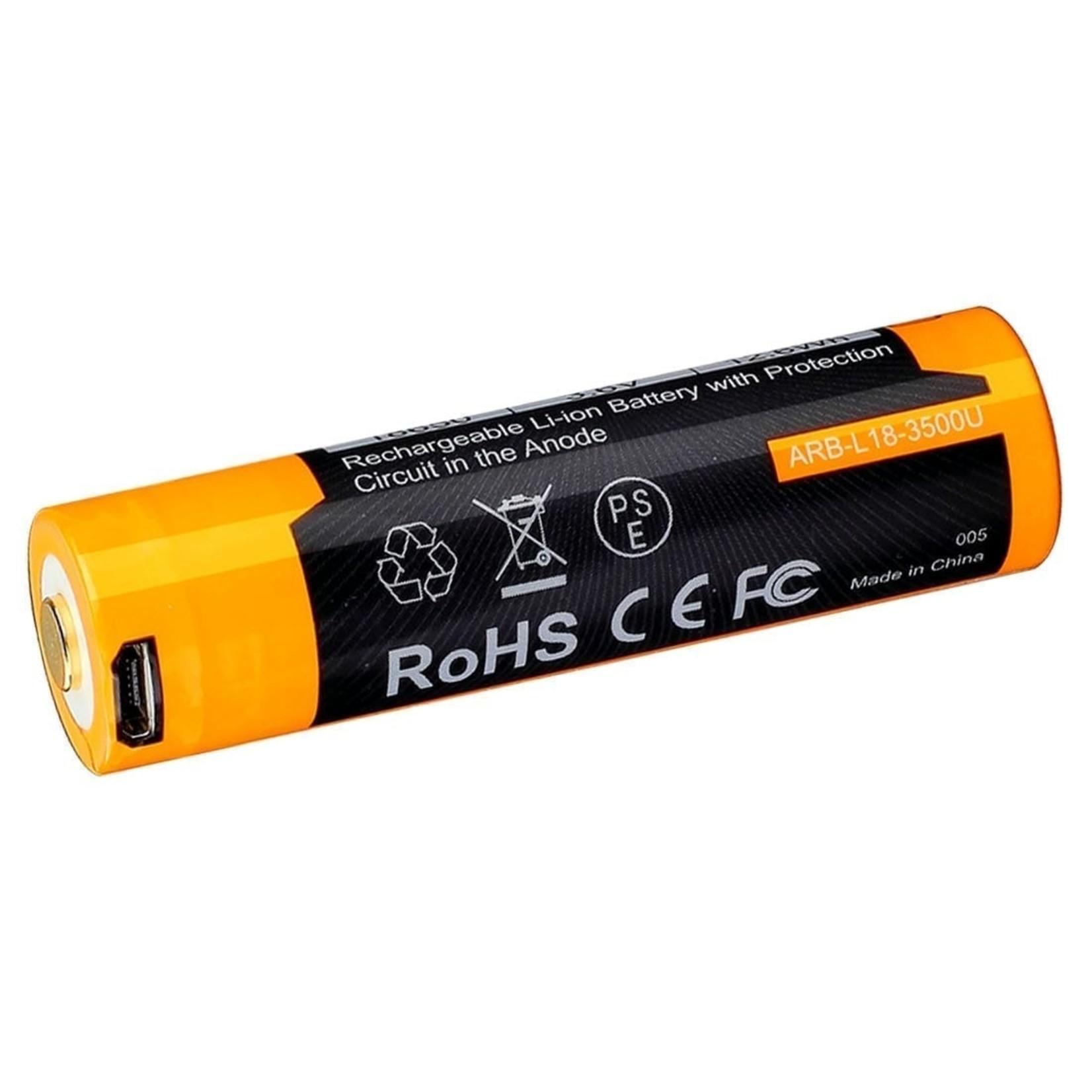 FENIX LIGHT FENIX ARB-L18-3500U BUILT-IN USB RECHARGEABLE BATTERY