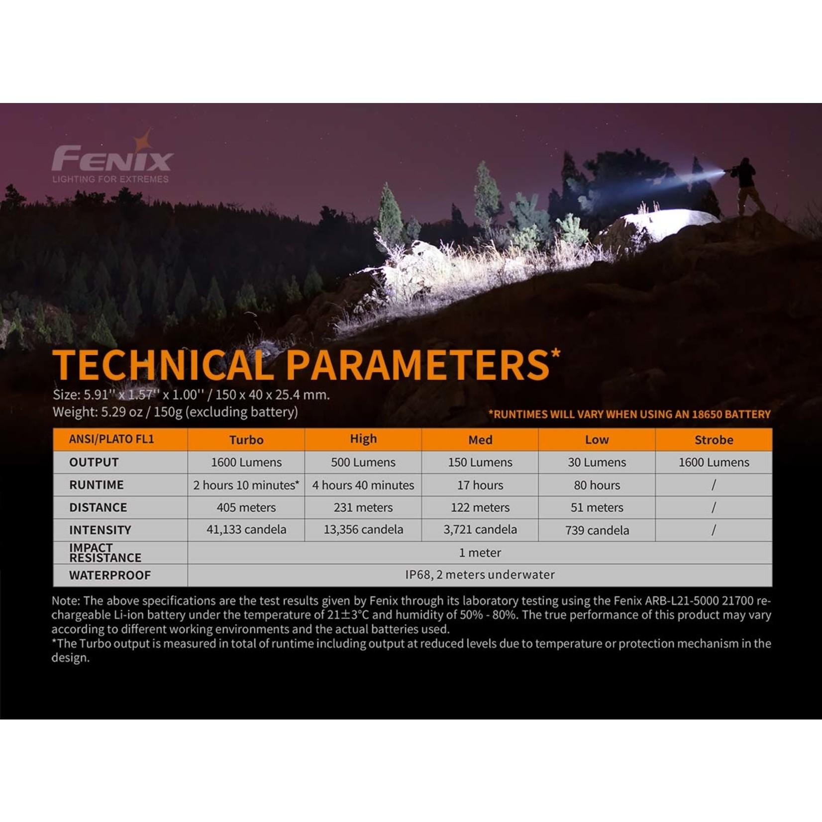 FENIX LIGHT TK22 V2.0